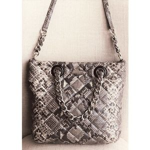Kate Spade Snakeskin Crossbody Tote Bag  Handbag